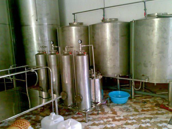 Máy lọc rượu đơn nguyên