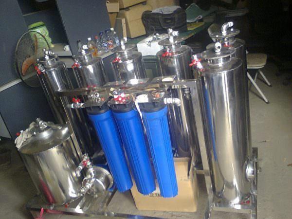 Máy lọc độc tố kết hợp lão hóa rượu