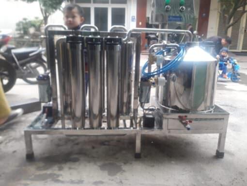 Máy lọc độc tố rượu nano bạc