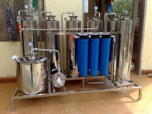 Máy lọc rượu 1 đơn nguyên - Công nghệ Nano Bạc