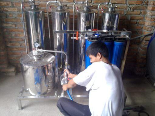 Máy lọc rượu gạo AGT