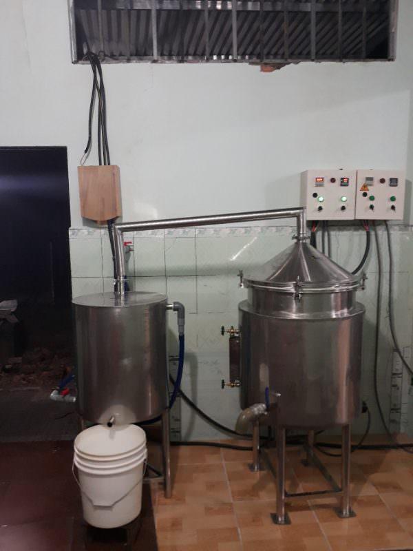 Nồi nấu rượu 30kg AGT
