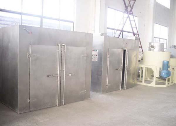 Sấy nóng phương pháp sử dụng công nghệ khí nóng đối lưu tuần hoàn