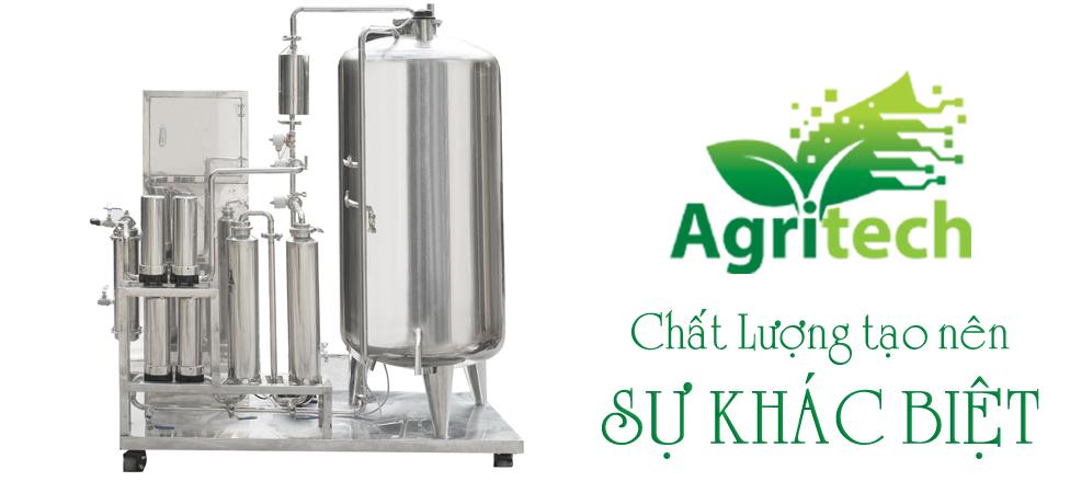 Hệ thống chưng cất tinh dầu của AGRITECH