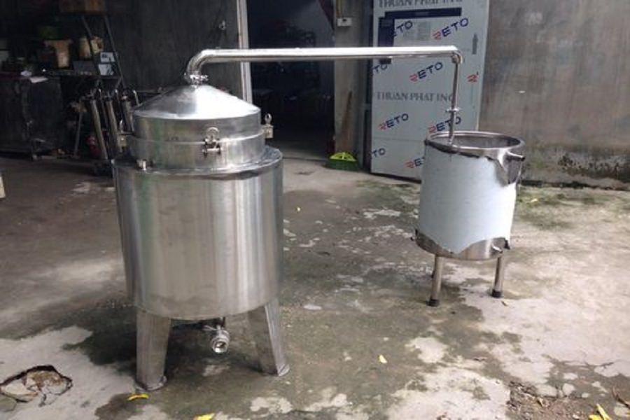 thiết kế hệ thống chưng cất tinh dầu quế